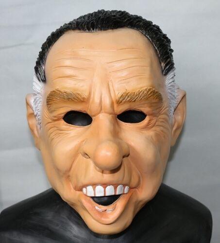 Richard Nixon Mask Dead Ex Presidents Latex Halloween Fancy Dress Point Break