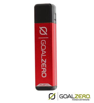 Goal Zero Flip 10 Caricabatteria-caricatore Per Dispositivi Di Alimentazione Usb-rosso- Aspetto Bello
