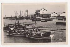 Tunisia, Gabes, Le Port RP Postcard, B352
