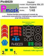 HAWKER HURRICANE MK.I/II PAINTING MASK TO ITALERI #48029 1/48 PMASK