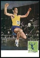 SPAIN MK 1964 OLYMPICS OLYMPIA WEITSPRUNG CARTE MAXIMUM CARD MC CM bf81