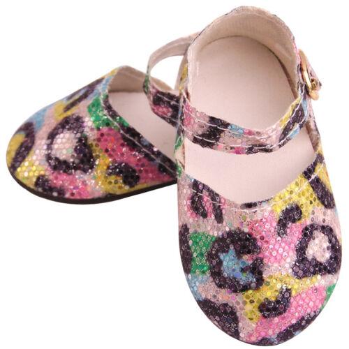 2x Chaussures pour Poupée Fille Américaine 18 inch
