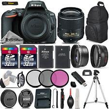 Nikon D5500 Digital SLR Camera +3 Lens 18-55mm VR II- 64GB Great Saving Full Kit