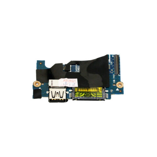 Power Button USB Card Reader Board Dell XPS 13 9343 9350 9360 LS-C881P H2P6T tbs