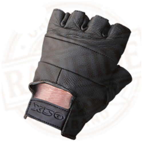 LEATHER FINGERLESS GLOVES PLUS GLOVES 4 SECURITY KEVLAR THERMAL CLASSIC GLOVES
