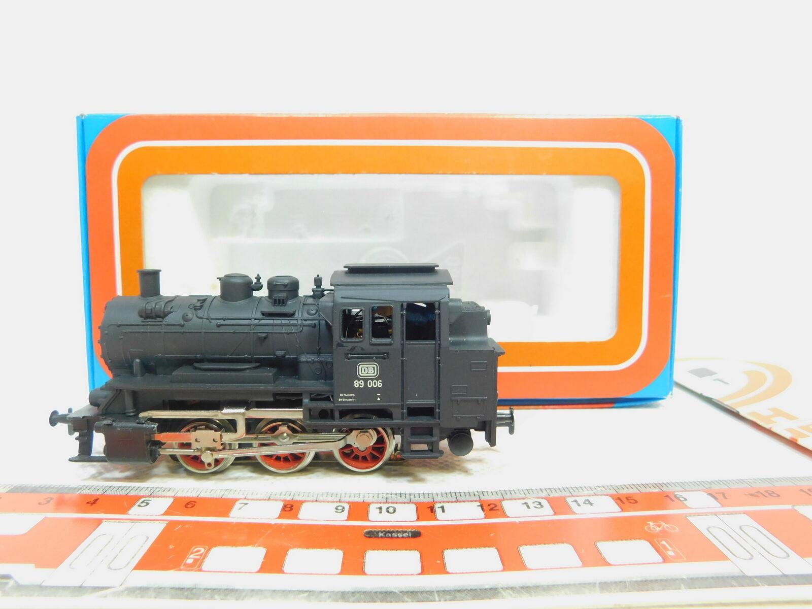 Bn267-0,5     H0/AC 3000 LOCOMOTIVA TENDER/Locomotiva a vapore 89 006