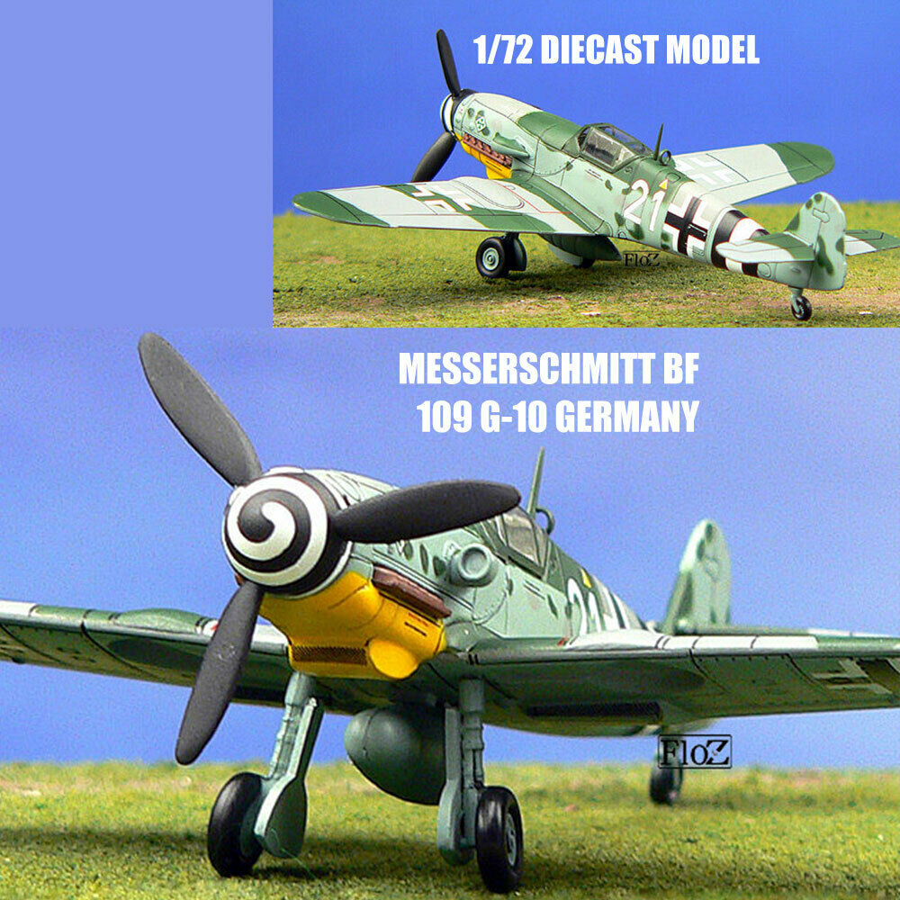 Messerschmitt BF 109 G-10 Germany 1 72 diecast plane model aircraft IXO