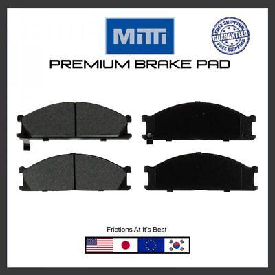 VAN /& Subaru SVX Frontier 720 Front Brake Pad Set For Pickup Pathfinder D21