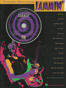 FUNK-GUITAR-JAMMIN-039-TAB-amp-Notes-Sheet-Music-Book-amp-CD