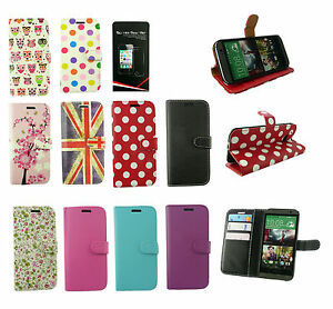 Flip-Wallet-Case-Cover-HTC-Models-Desire-601-310-610-816-500-300-C-X-many-more