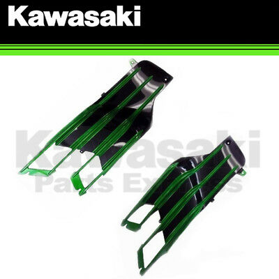 NEW 2013 - 2017 GENUINE KAWASAKI NINJA ZX-14R LEFT & RIGHT FIN GRILL FAIRINGS