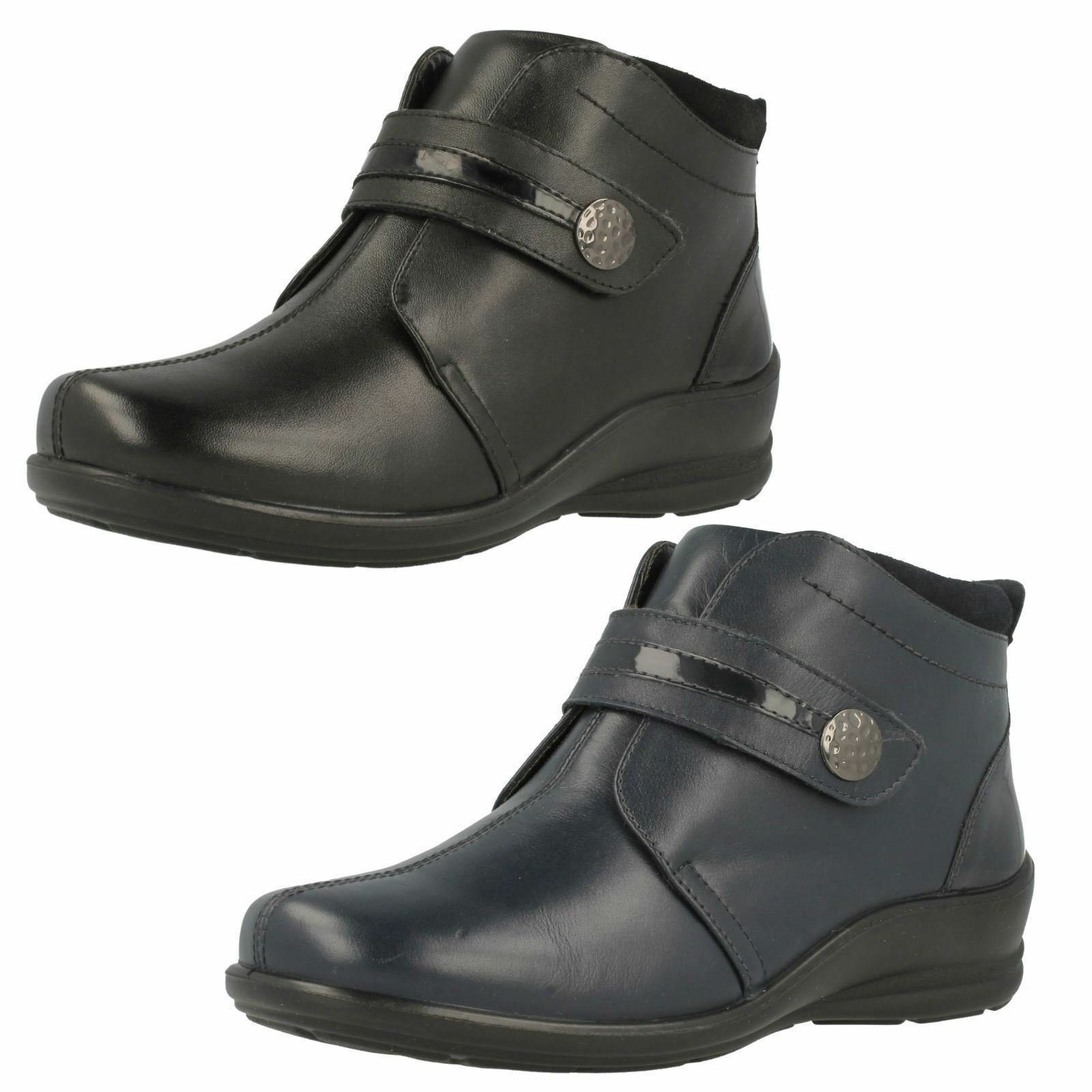 Femmes Padders Casual Dual Fit Bottines Shirley