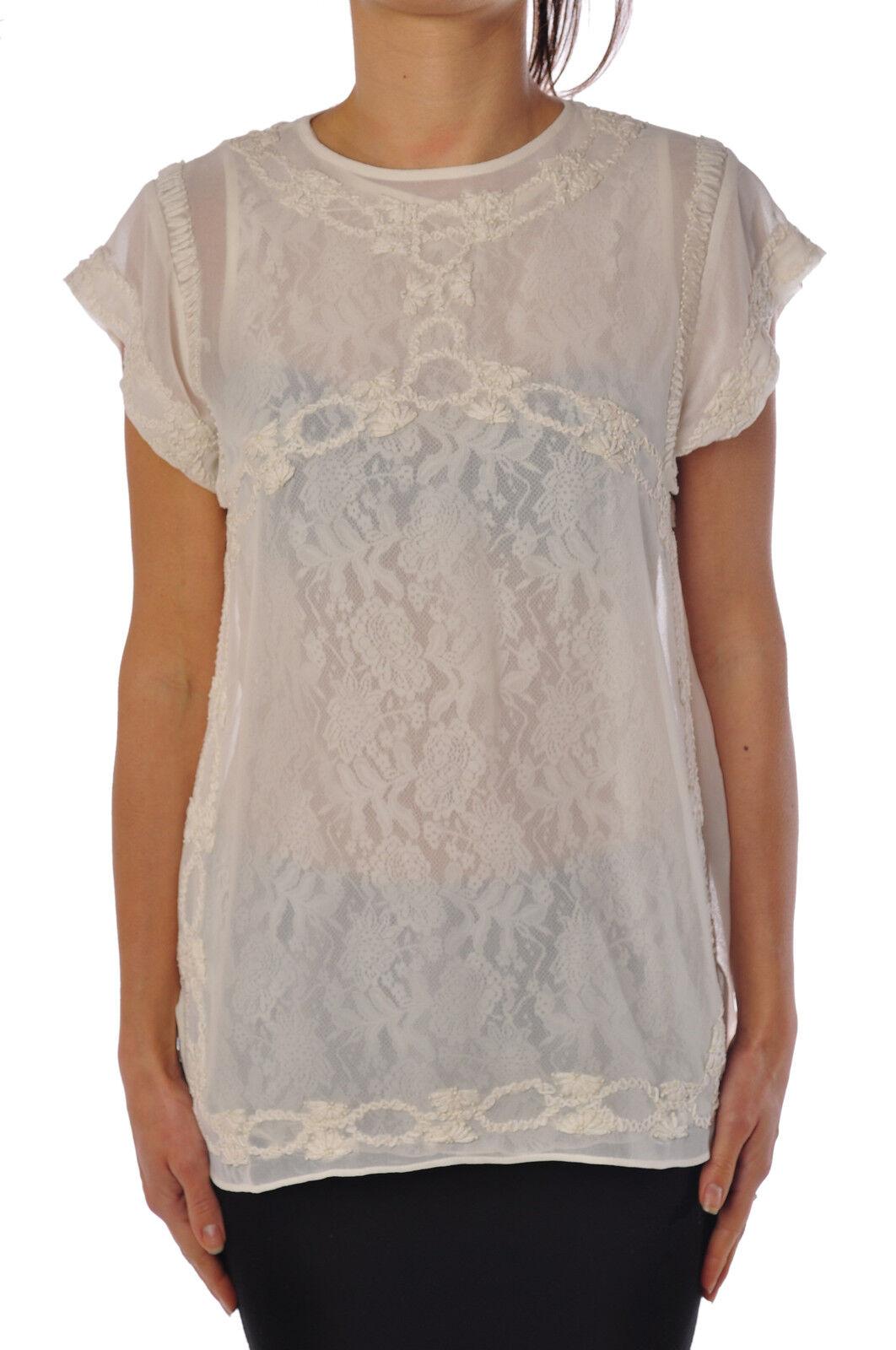 Twin Set  -  Blouses - Female - S - White - 1247326A165329