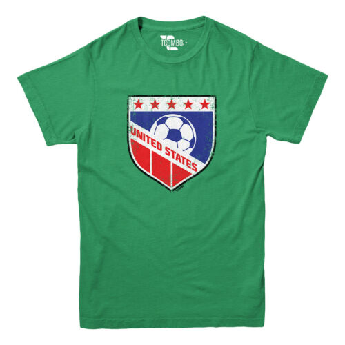 Football Futbal Club Team Sports Ball Youth T-shirt USA Soccer