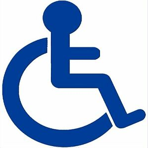 1 x disabled logo sticker wheelchair mobility car external rh ebay com disable logon after sleep disable logoff