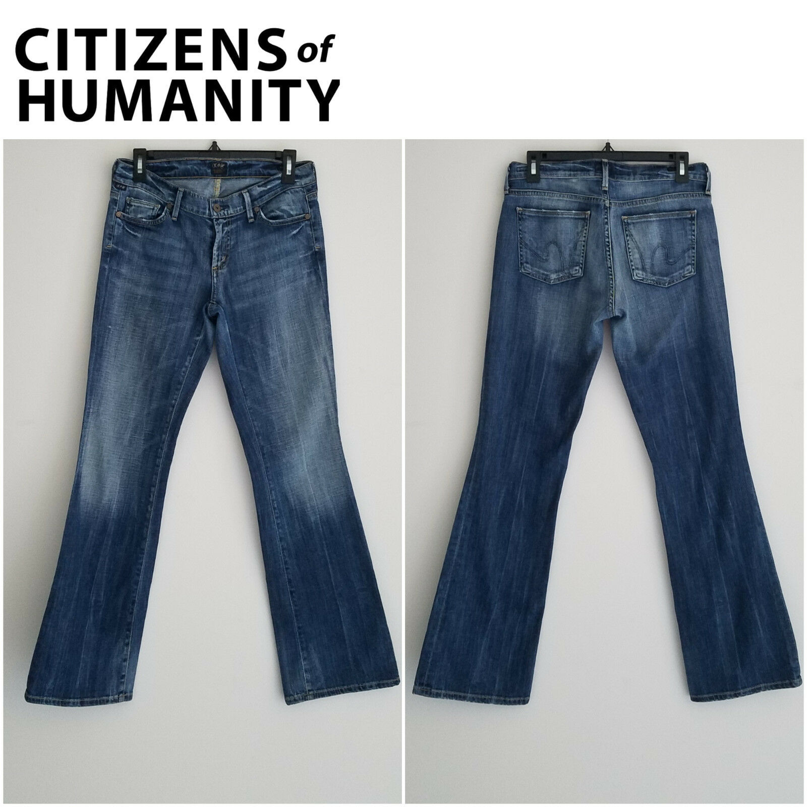Citizens of Humanity Womens bluee Jeans Sz 28 Dita Petite 1275-145 (31x31) (A)