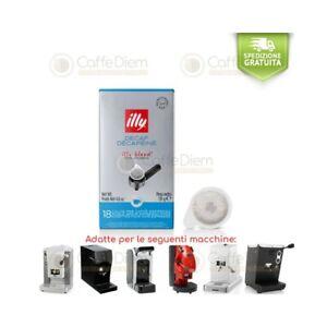 UK illy 44mm ESE Pods Classico Decaffeinated - 108 Espresso Pods - 100% Arabica