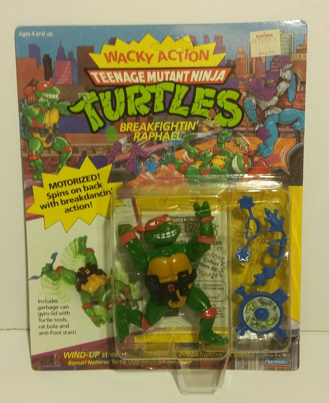 mas preferencial Teenage Mutant Ninja Ninja Ninja Turtles Wacky figuras de acción Raph Don Mike Leo Tortugas Ninja 2018 Playmates  nuevo sádico