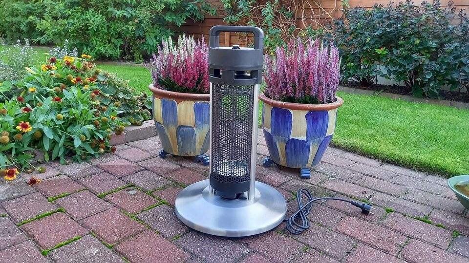 Terrassevarmer, Patio heater, Jern og alumimium