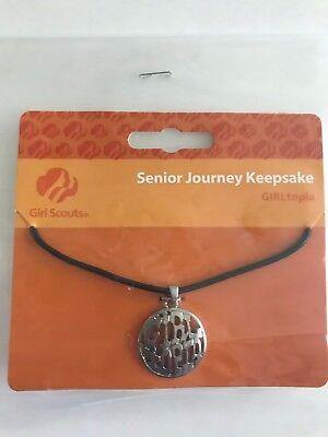 "NIP New Girl Scout Senior Journey Keepsake Necklace /""Girltopia/"" Jewelry Gift"