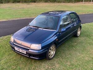 RENAULT-CLIO-WILLIAMS-ONE-GEN-1-CLASSIC-PROJECT-BARN-FIND-172-182-197
