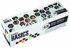 Set Paint Tube Basics Liquitex Acrylic 48 Piece Art Painting Color