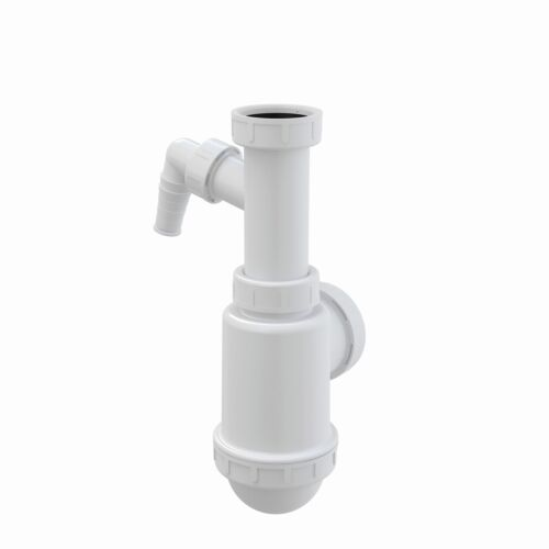 """Ablaufgarnitur Spülbecken Flaschen Röhren Siphon 1,5/"""" ø40//50mm Spüle Becken"""