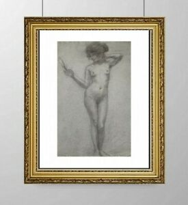 SIMONE-BLANC-DEROCQUE-1903-2000-SUPERBE-NU-FEMININ-VERS-1930-26