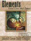 Elements Fractal Cross Stitch Pattern by Tracy Warrington (Paperback / softback, 2014)