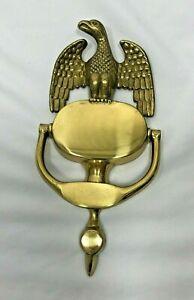 Vintage Brass Full Eagle Door Knocker