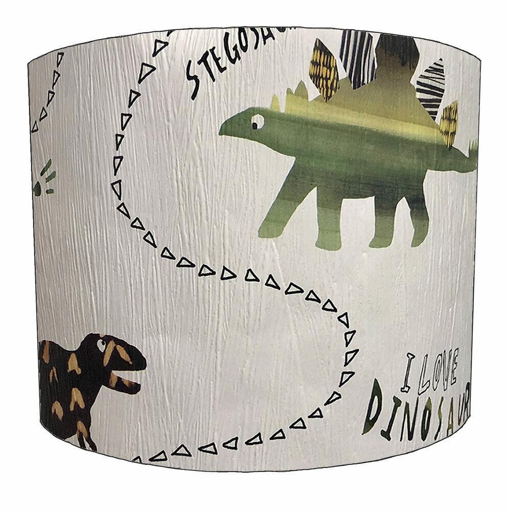 Dinosauro paralumi, ideale per abbinare Dinosauro Dinosauro Dinosauro Carta Da Parati & Dinosauro copripiumini. 8e5239