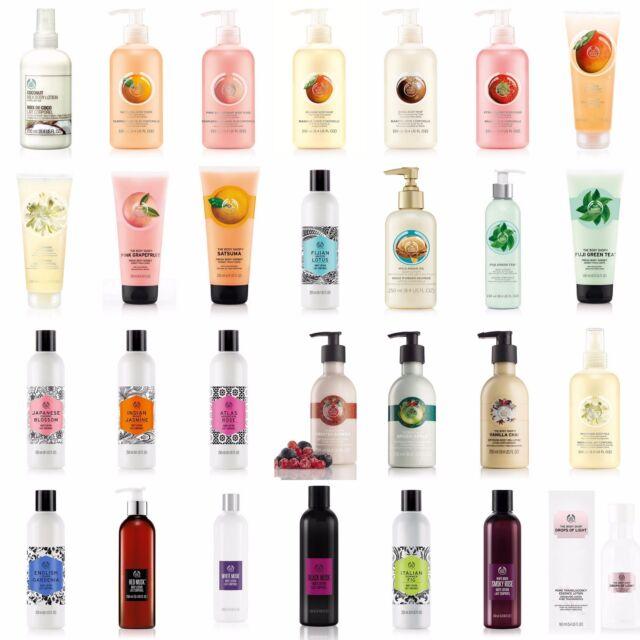 Body Shop | Full Range | LOTION/SORBET/GEL Whipped-Nourishing-Softening-Essence