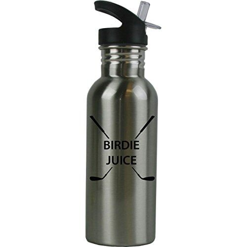 Birdie Juice Stainless Steel Water Bottle with Straw Top 20 Ounce Water Bottle