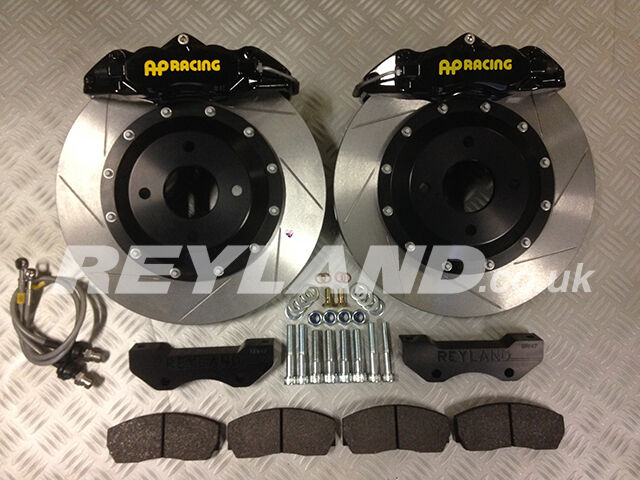 BMW E36 M3 330mm front brake kit with AP Racing CP9200 4 pot calipers