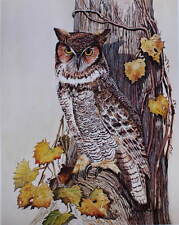Great Horned Owl by Leland Brewsaugh
