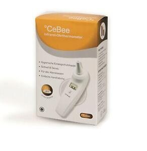 Kontaktloses Stirn- und Ohrthermometer mit Hygiene-Schutz