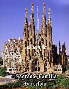 Spain-BARCELONA-SAGRADA-FAMILIA-Travel-Souvenir-Flexible-Fridge-Magnet
