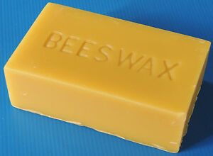 Beeswax-450-gram-block-100-Australian-natural-bees-wax-suit-creams-and-polishes