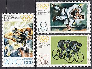 DDR-1980-Mi-Nr-2528-2530-Postfrisch-MNH