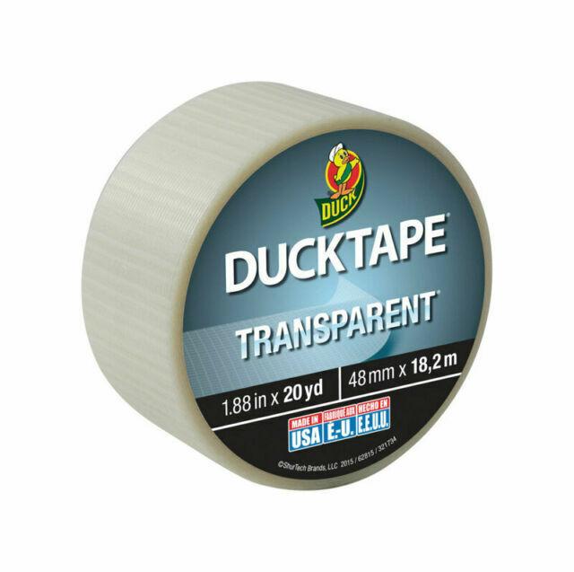 L Black W x 20 yd Duck Brand Duct Tape 1.88 in