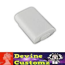 XBOX 360 Bianco Pacco Batteria AA Wireless Controller Case Pack per Cover Titolare