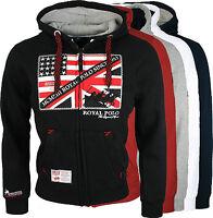 Geographical Norway Herren Sweat Jacke Hoodie Pullover Sweatshirt NEU Fitsh