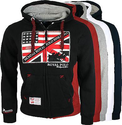 Geographical Norway Men's Sweatshirt Hoody Jacket Jumper Sweatshirt NEW Fitsh