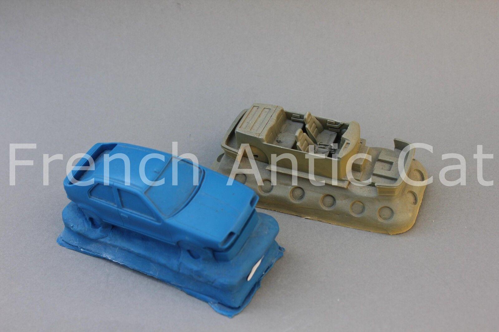 Rare matrix mould resin renault 19 phase 1 4 door 1 43 heco models mj