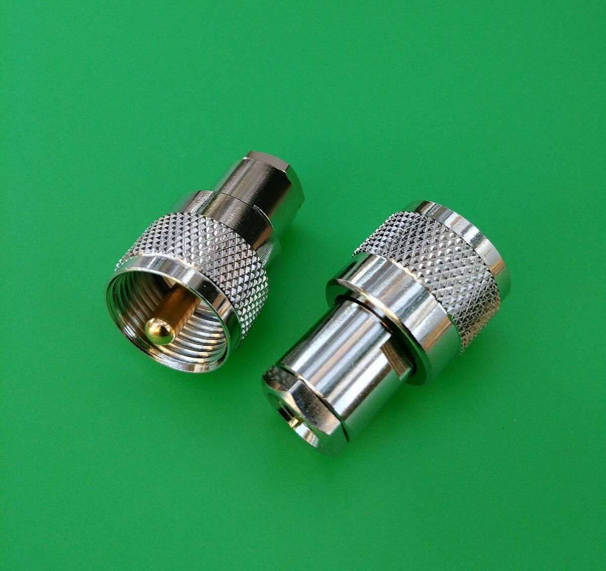 10 PCS FME Male to BNC Male Adapter USA Seller
