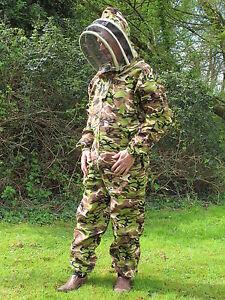 Consciencieux Qualité Premium Apiculture Escrime Costume-camo. Toutes Tailles. équipement De Protection-afficher Le Titre D'origine