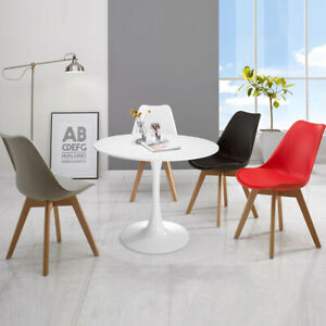 Round Pedestal 32 Table Coffee Table Wood Table For Dining Room White 6971888422205 Ebay