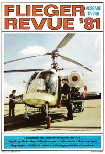 346-12//1981 TOPP HEFT 2f8112// Flieger Revue Nr