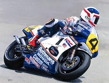 Freddie Spencer Honda NSR 500cc Grand Prix Motorcycle Racing Motorbike Art Print