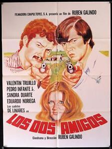 Image Is Loading 286 LOS DOS AMIGOS South American Movie Poster
